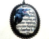Victorian Cameo Necklace Victorian Gothic Jewelry Cameo Pendant Necklace Statement Necklace Jewelry Cameo - Roxanne. $46.00