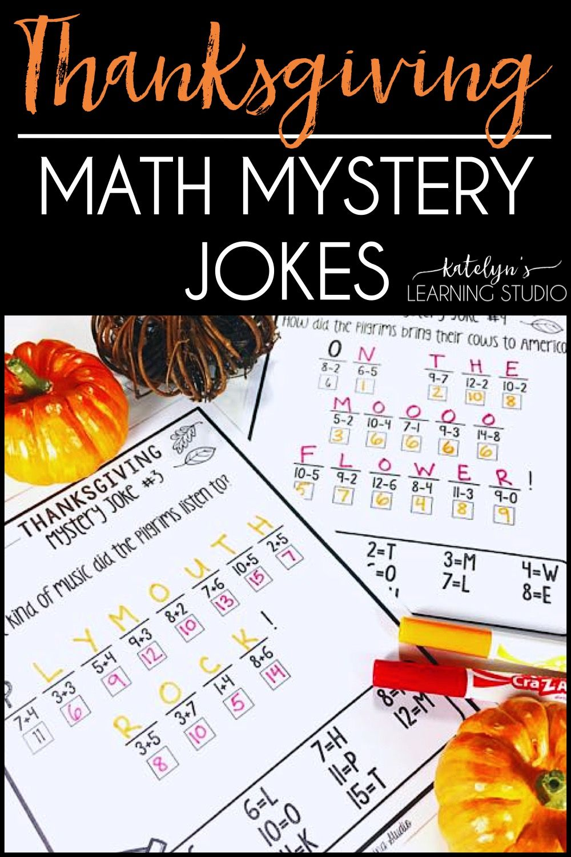 Thanksgiving Math Worksheets | Pinterest