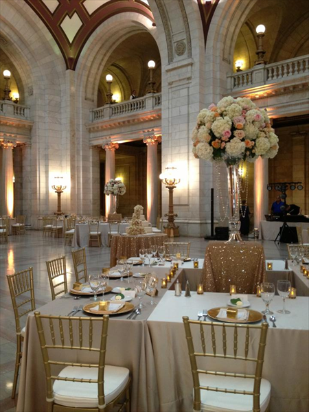 The Old Courthouse Cleveland wedding venue, Outdoor