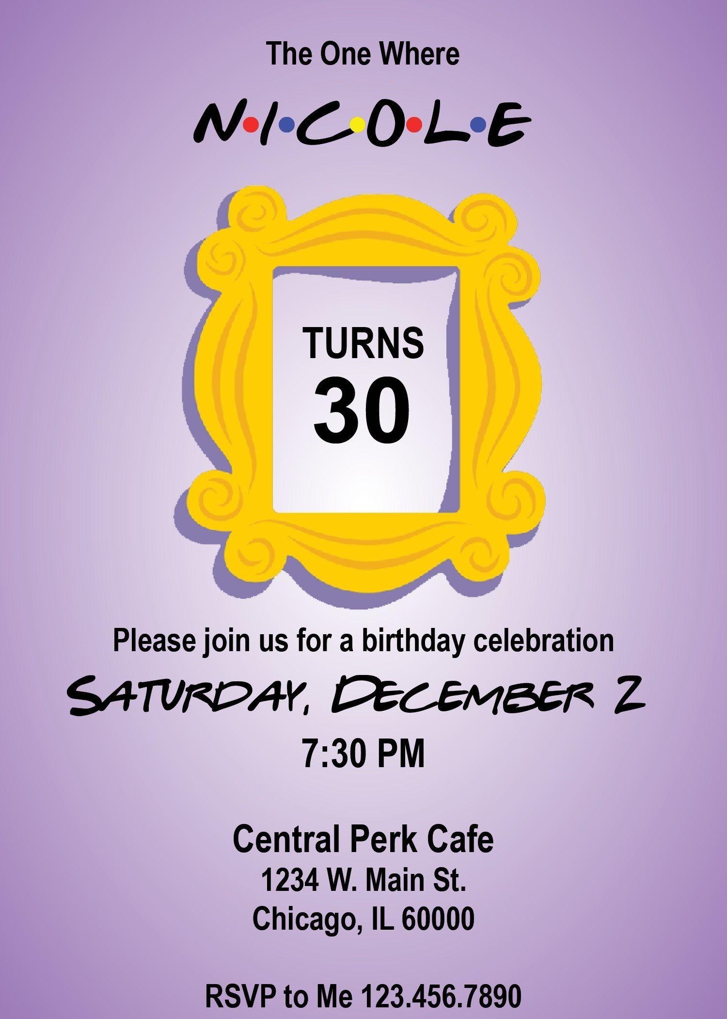 Birthday Invitation For Friends for Inspiration Birthday