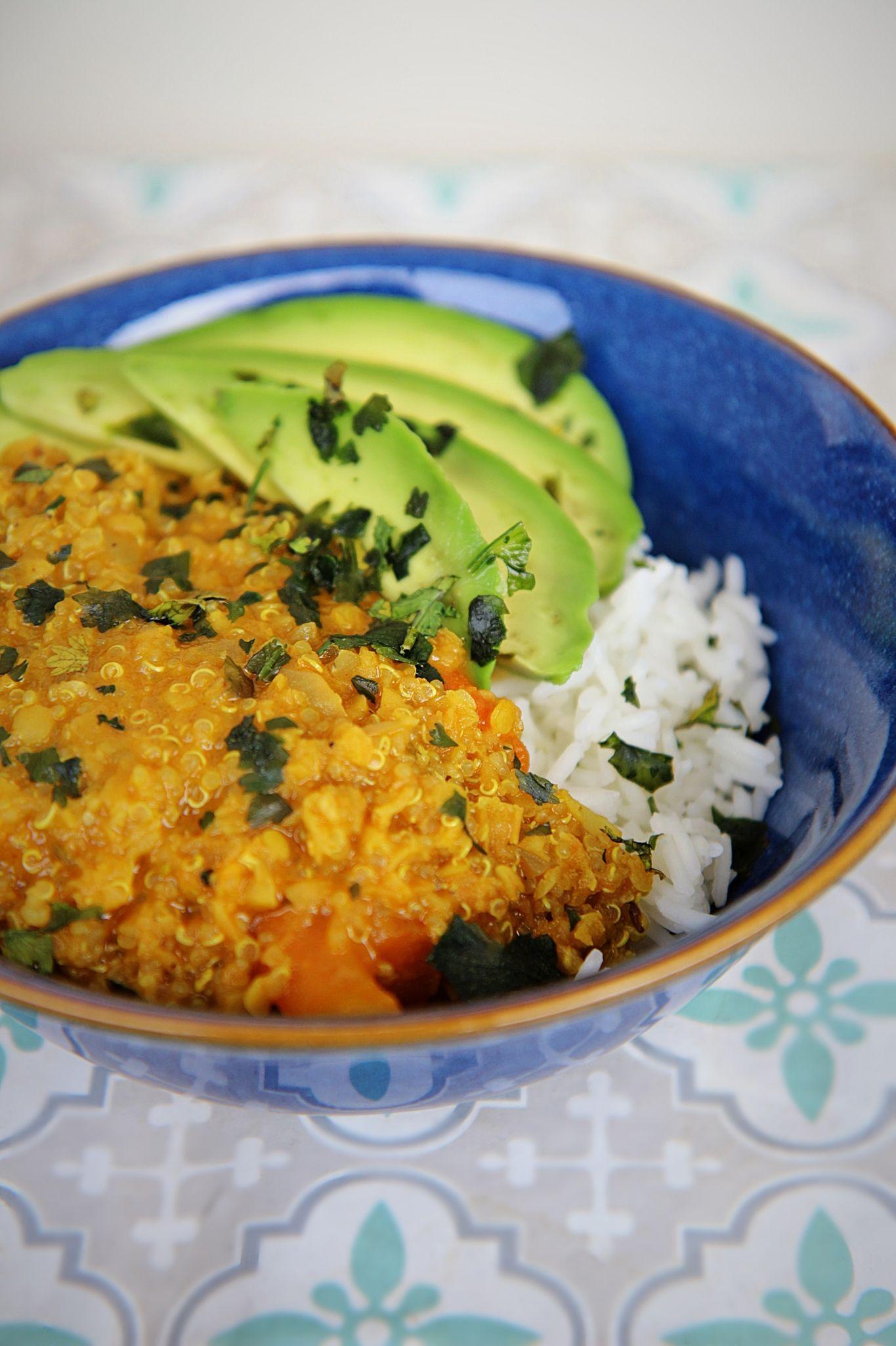 Crémeux lentilles quinoa au lait de coco | Recette (avec ...