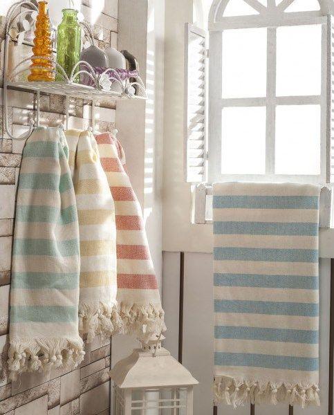 Hand Woven Turkish Towels Turkish Towels Bathroom Styling