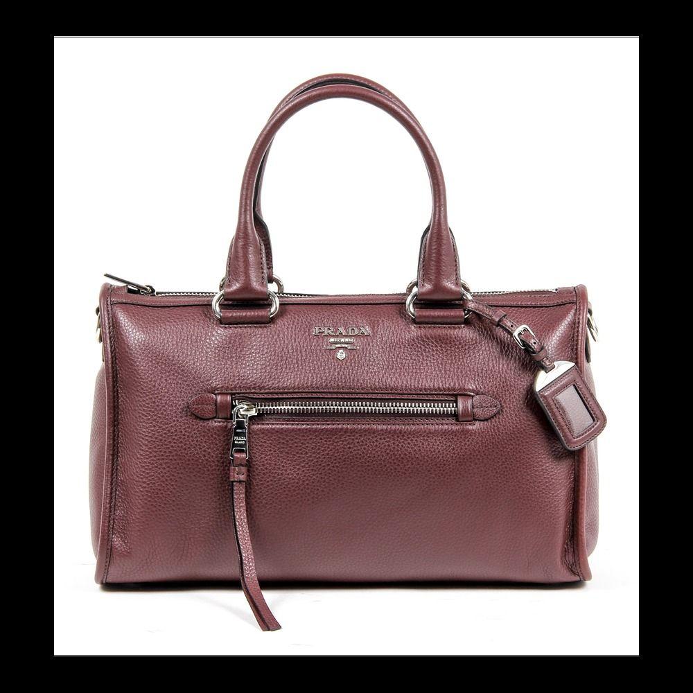 Prada Las Bl0805 Vitello Phenix Handbag Ebay