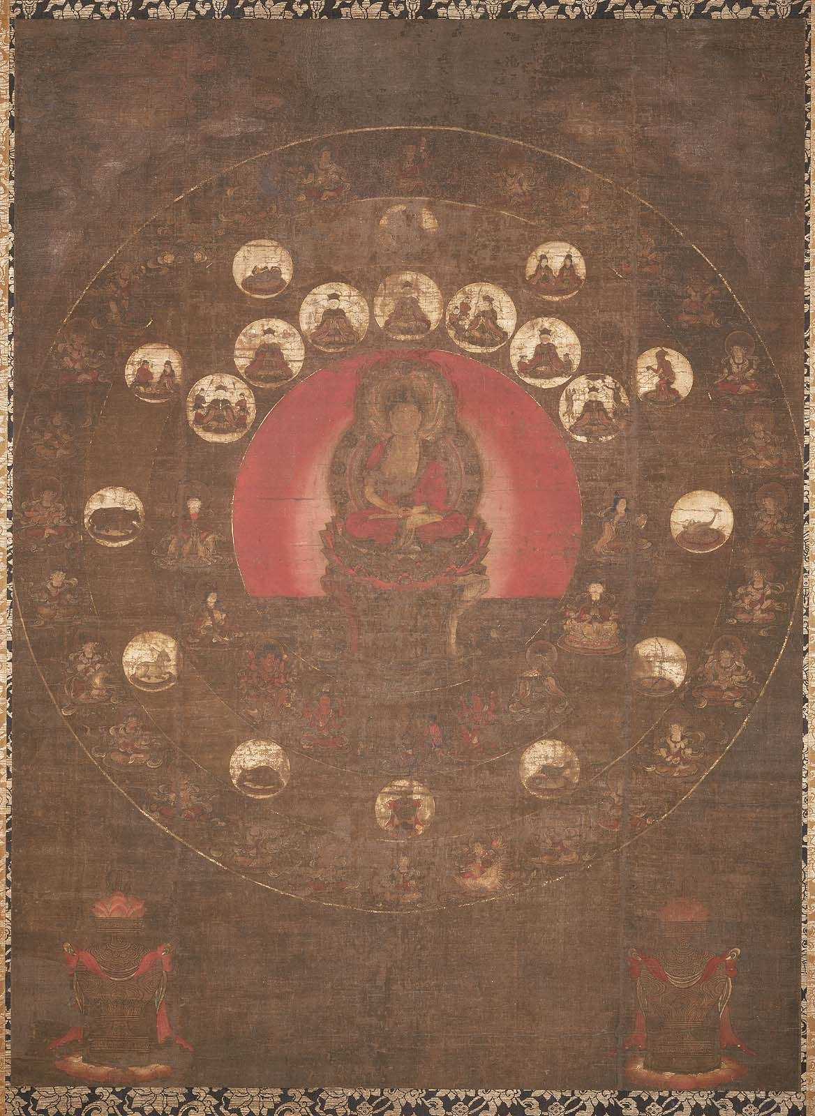 star mandala mandala museum of fine arts japanese