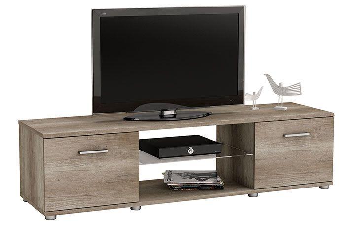 Mueble TV 2 puertas 2 huecos