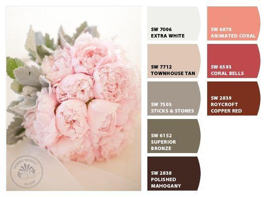 Sticks & Stones and Coral Bells - Paint colors from Chip It! by ...