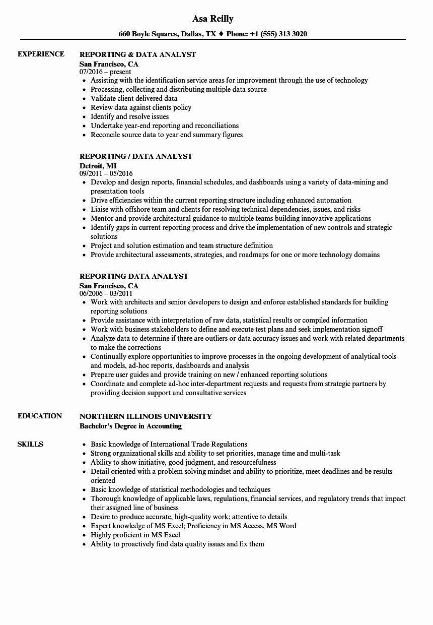 Healthcare Data Analyst Resume Unique 14 15 Data Analyst