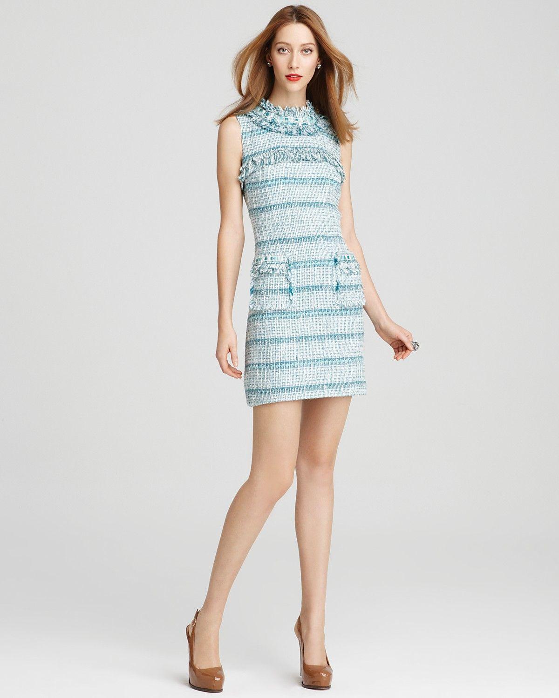 Tory Burch Curtis Tweed Dress