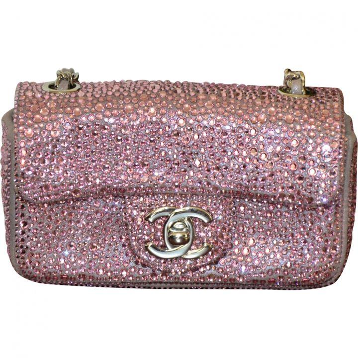 CHANEL 2.55 pink handbag