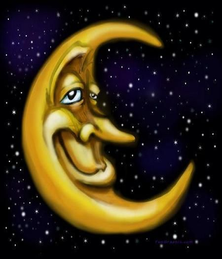 man in the moon..