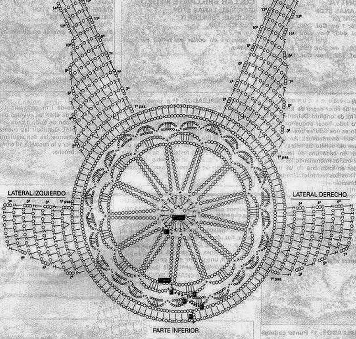 Chaleco con flecos y dibujos mandalas - Patrones Crochet | cr4ochet ...