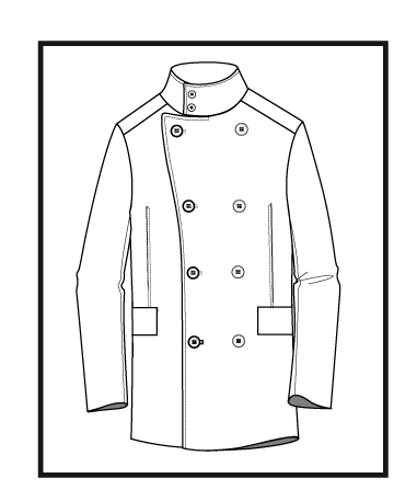 Line Drawing Of Jacket