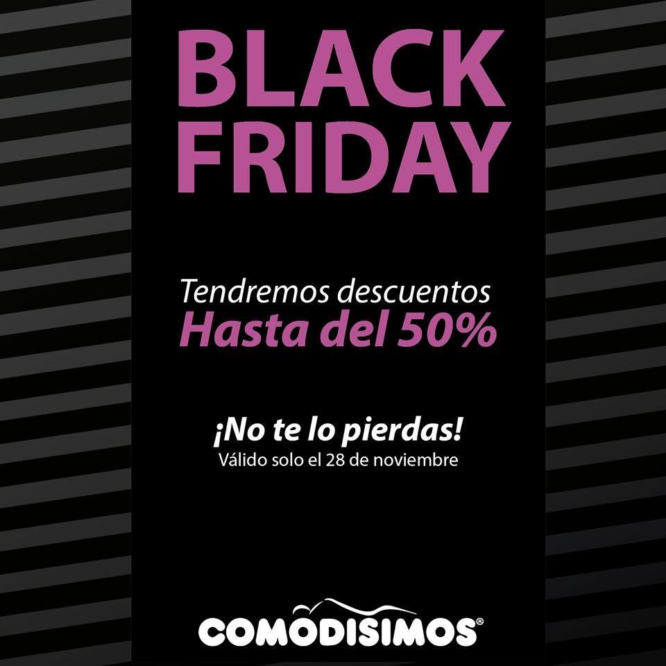 ¡ No te lo puedes perder ! Black Friday COMODISIMOS / Alamedas CC #piensaenti