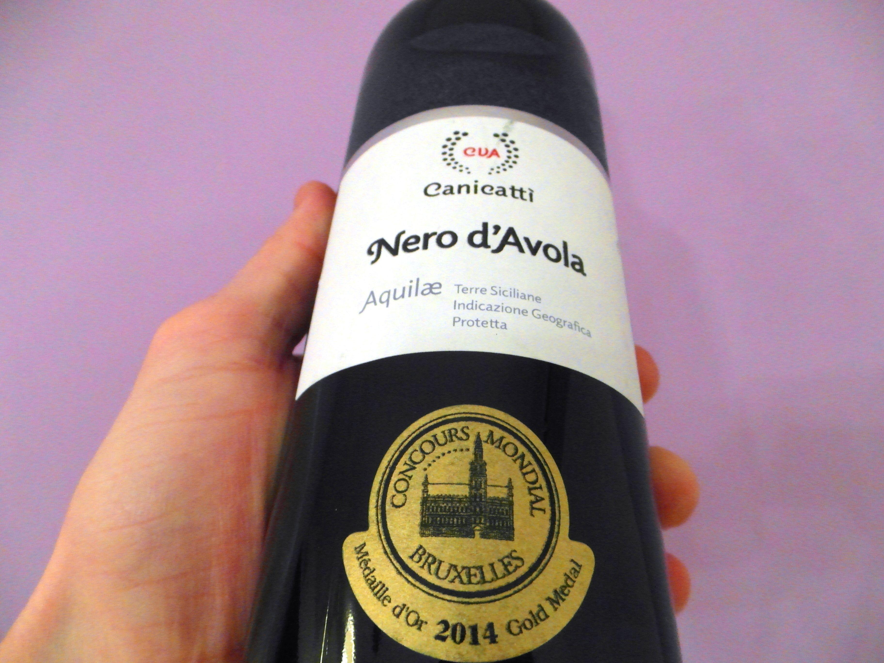 Nero d Avola Sicilia  #nerodavola #sicilia #concourmondialbruxelles