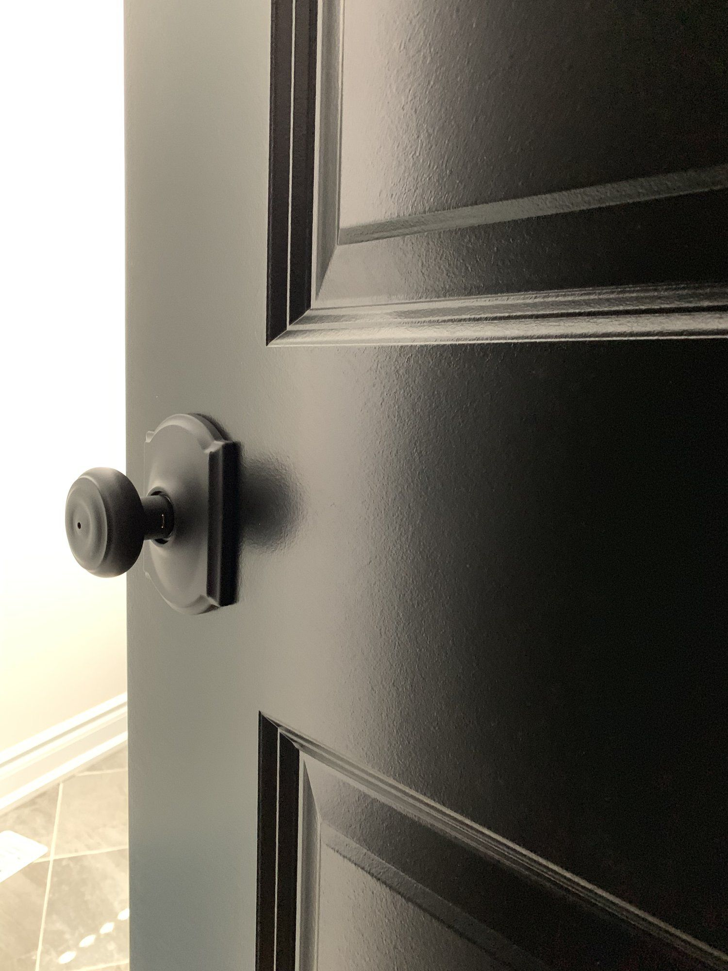 Customizing Interior Door Hardware With Schlage Black Doors