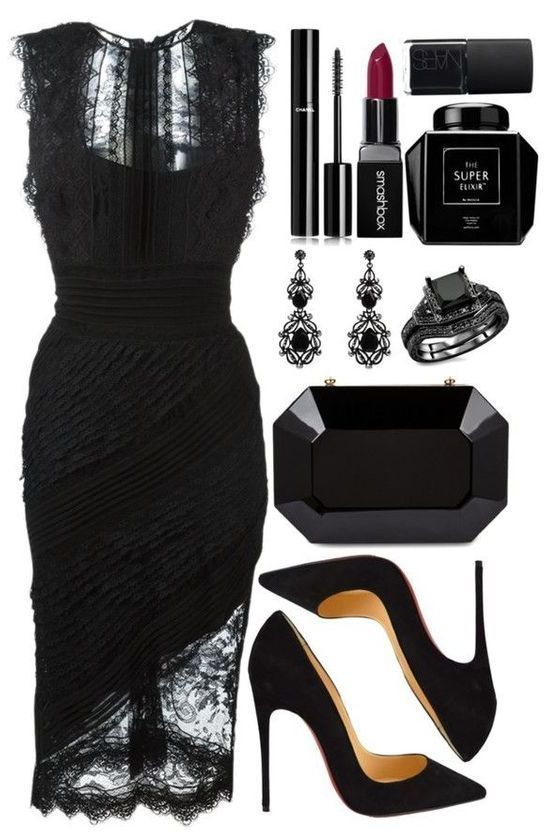 Photo of Black lace dress. – Ultimate collections of dresses AlaydaAmara.ml