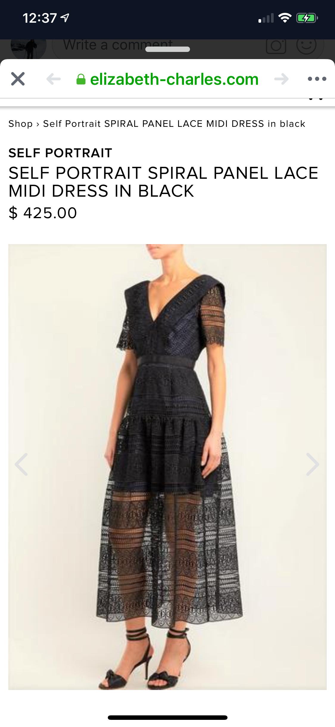 Back Zip Illusion Dress | Neiman Marcus