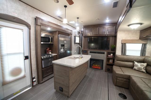 2017 open range 376fbh front living room or 2nd bedroom - 5th wheel campers with 2 bedrooms ...
