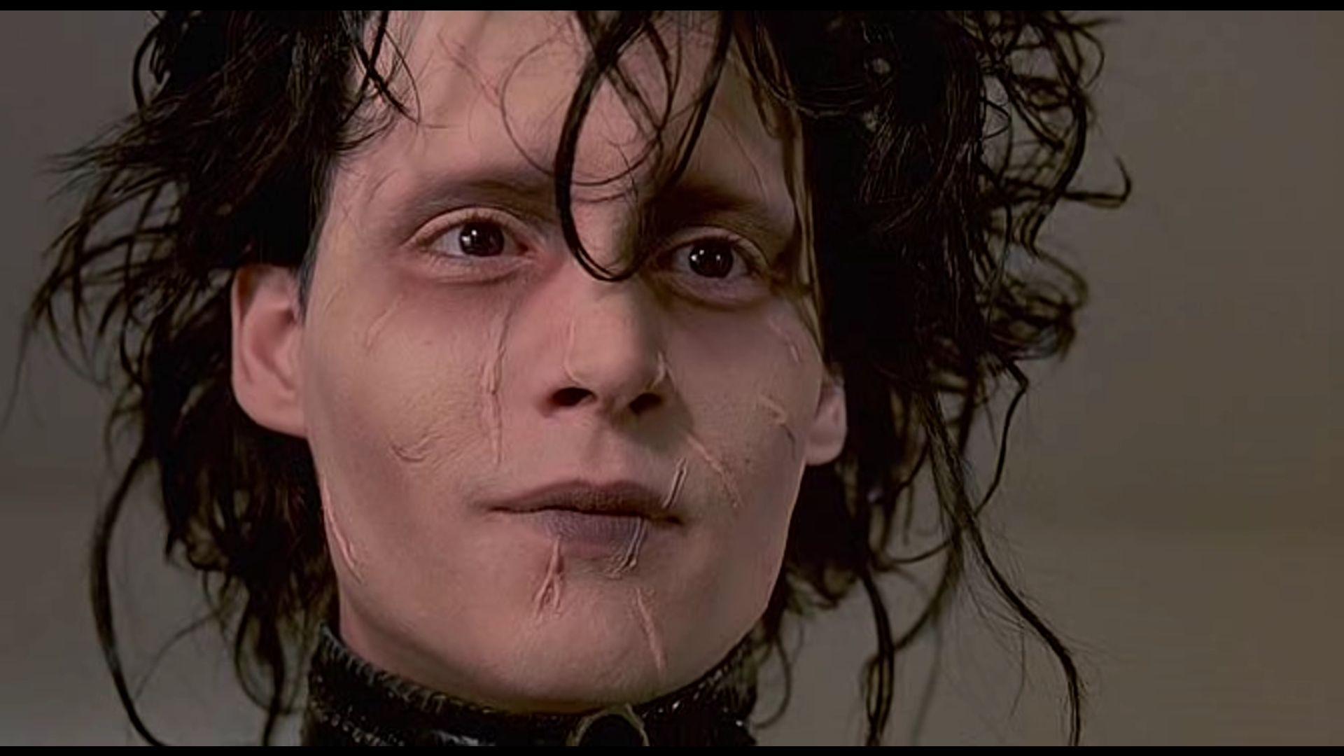 Image result for edward scissorhands face
