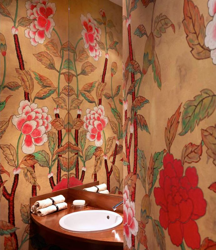 de Gournay wallpaper.