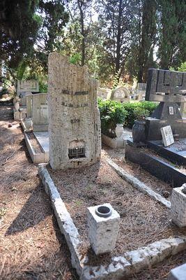 SAGID - Immagini Collezioni... Luciano Morpurgo's grave, 10 bis, Israelitico