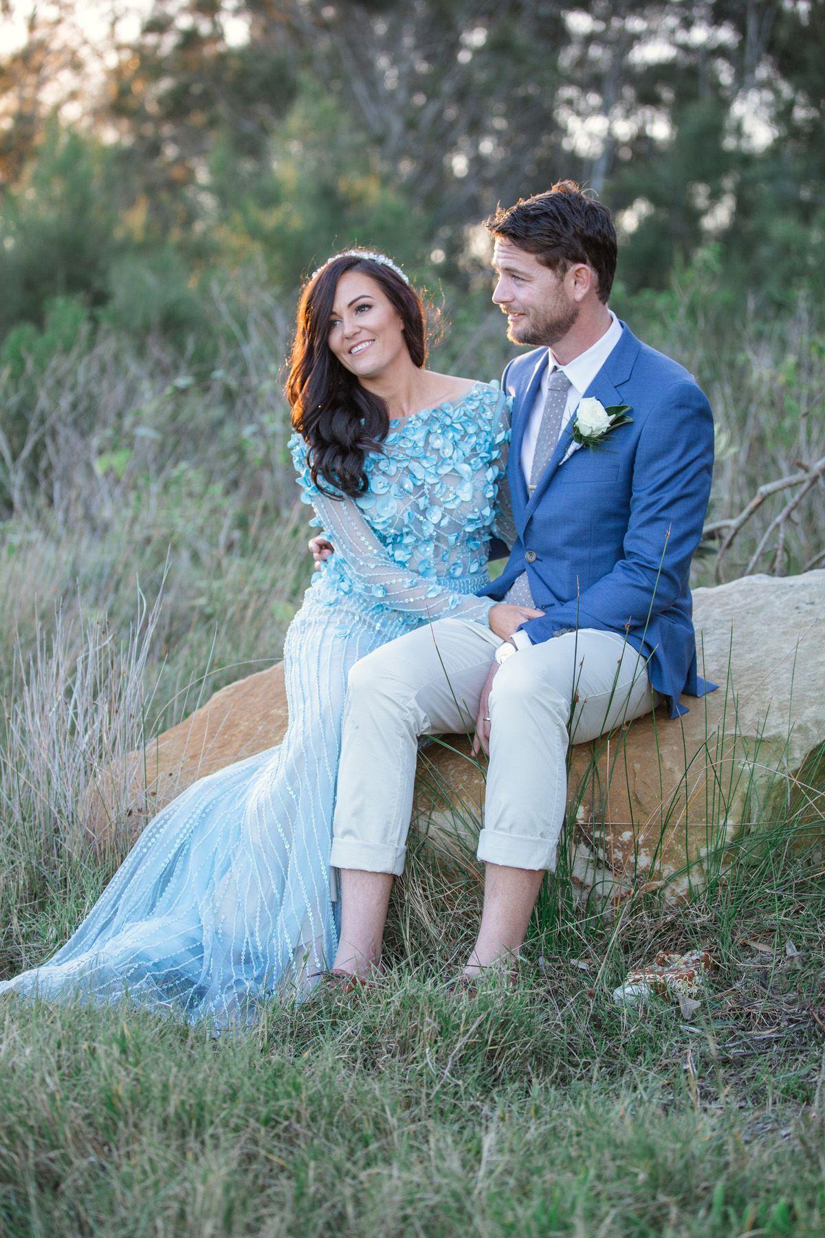 Waterside White Wedding In Yamba - Polka Dot Bride