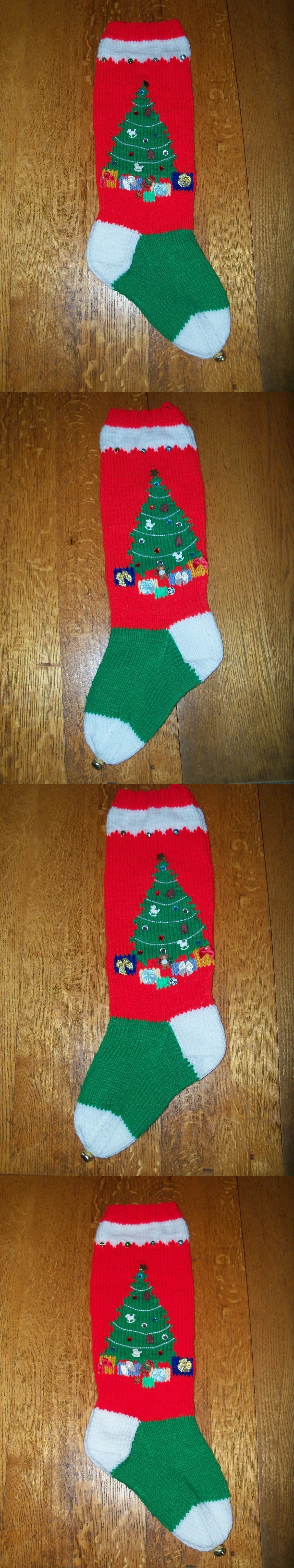 Patterns contemporary 41228 hand knitted christmas stocking patterns contemporary 41228 hand knitted christmas stocking christmas tree pattern both sides bankloansurffo Choice Image