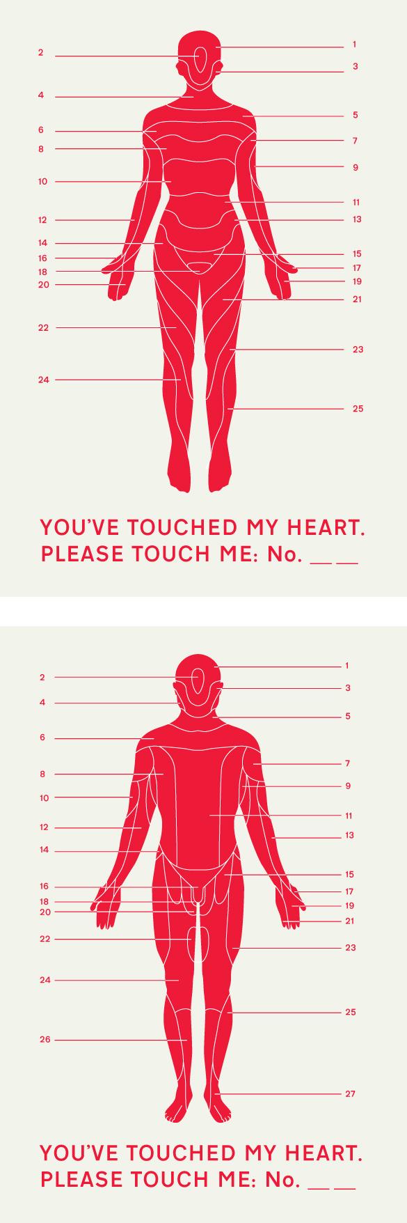 touch Veuillez toucher mon...