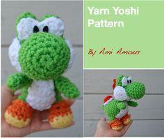 Yarn Yoshi Amigurumi Pattern »
