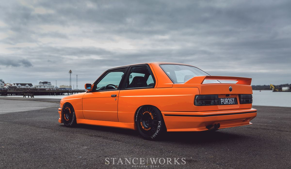 Bmw Black Turbo Drift Front Stance Bmw Ultimate Driving