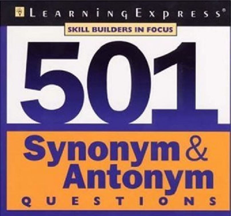 501 Synonym And Antonym Questions By Learning Express Tech Urdu Synonyms And Antonyms Antonym Learning Express