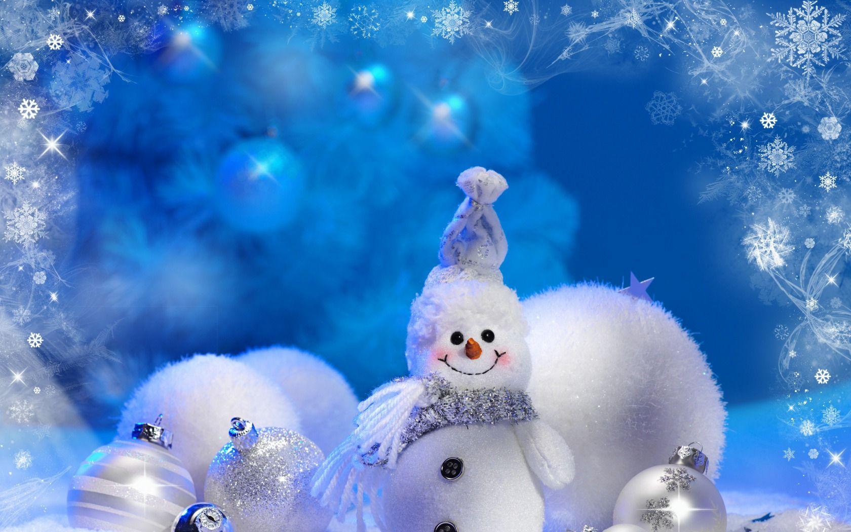 snowman - Elmer Fudd Blue Christmas