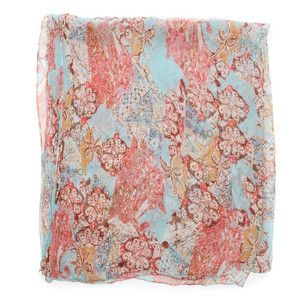 Sheer Exotic Print Scarf, $55, now featured on Fab.