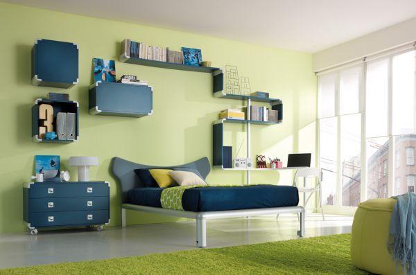 Tips To Decorate Your Kids Rooms Bedroom Decorating Ideas Teenager Bedroom Boy Simple Bedroom Boys Bedroom Green Modern green ergonomic kids bedroom
