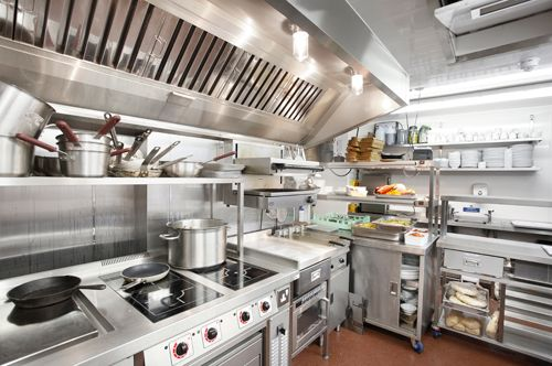 the design and layout of a commercial kitchen can mean the