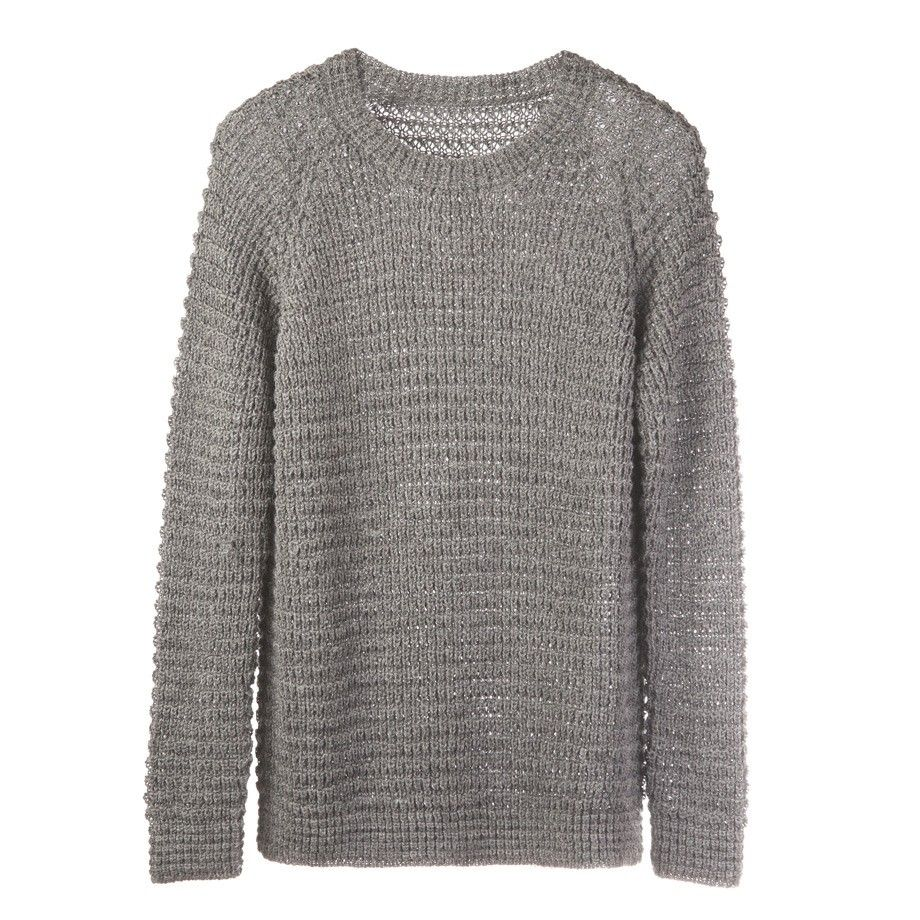 Alpaca waffle knit sweater mist chooss pinterest waffle knit
