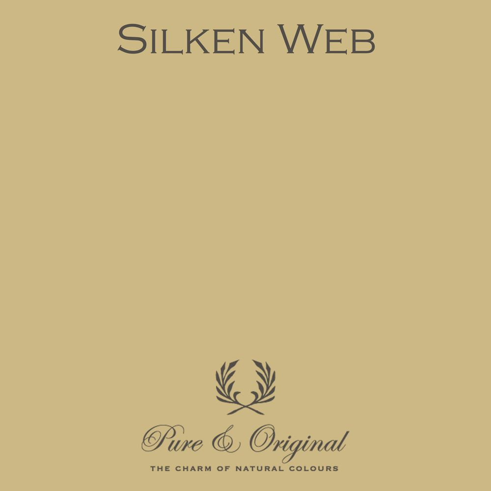 Silken web pure original paint colour kleuren pure fresco lime paint and marrakech walls have specific colour nuances in it which makes the paint unique nvjuhfo Gallery