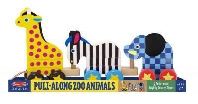 Pull-Along Zoo Animals