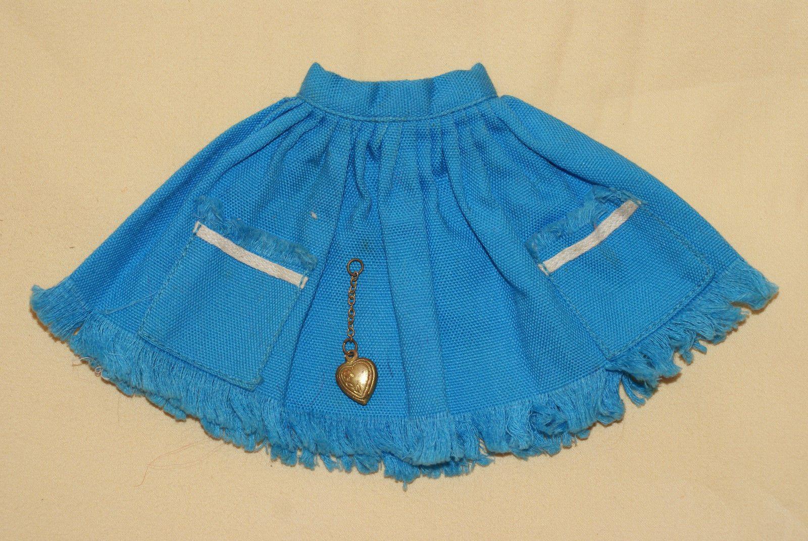 Tammy's Blue Skirt 9230 4 with Heart Shaped Locket | eBay