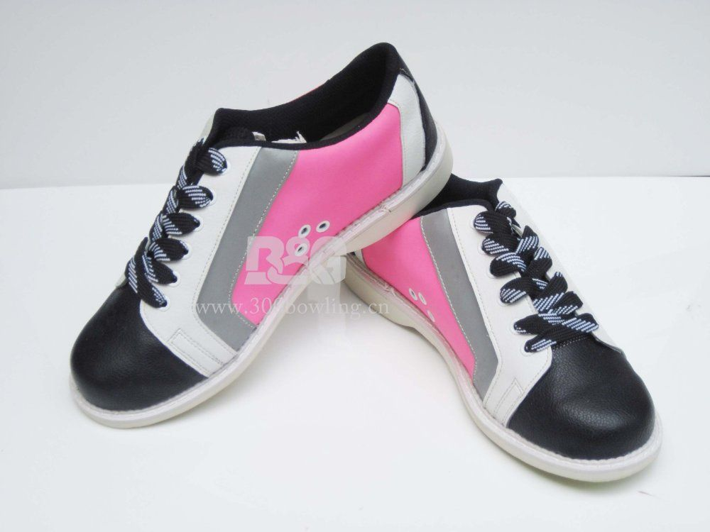 Amazon.com: Elite Athena Black/Pink Bowling Shoes - Women: Sports ...