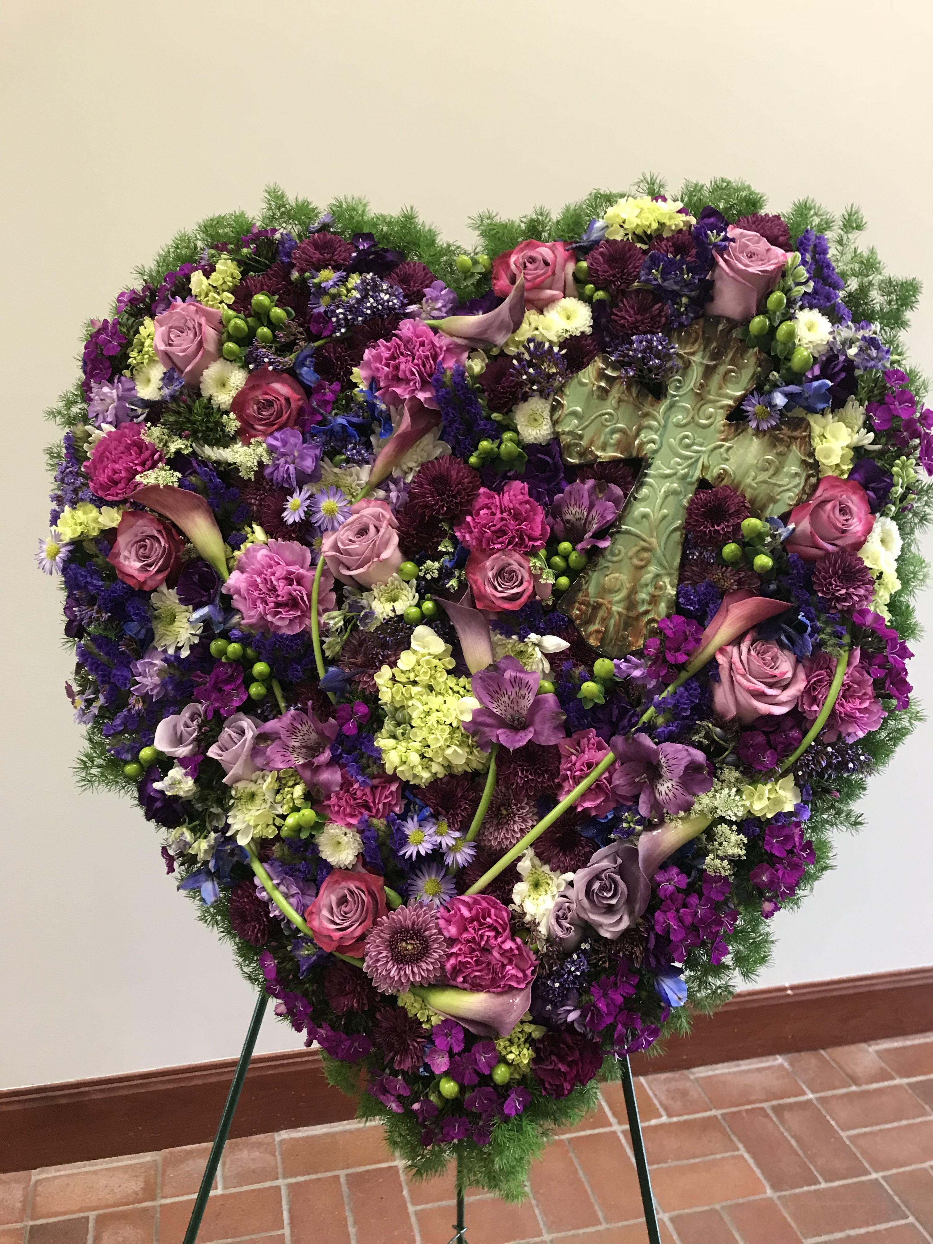 Pin By Dottie At Kds Florist On Funeral Flowers Pinterest
