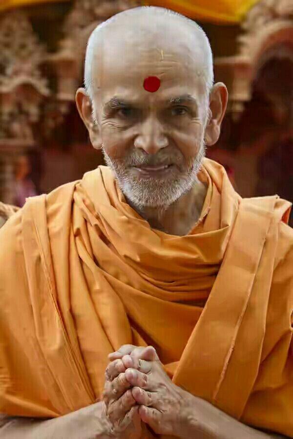 Happy New Year Mahant Swami 28