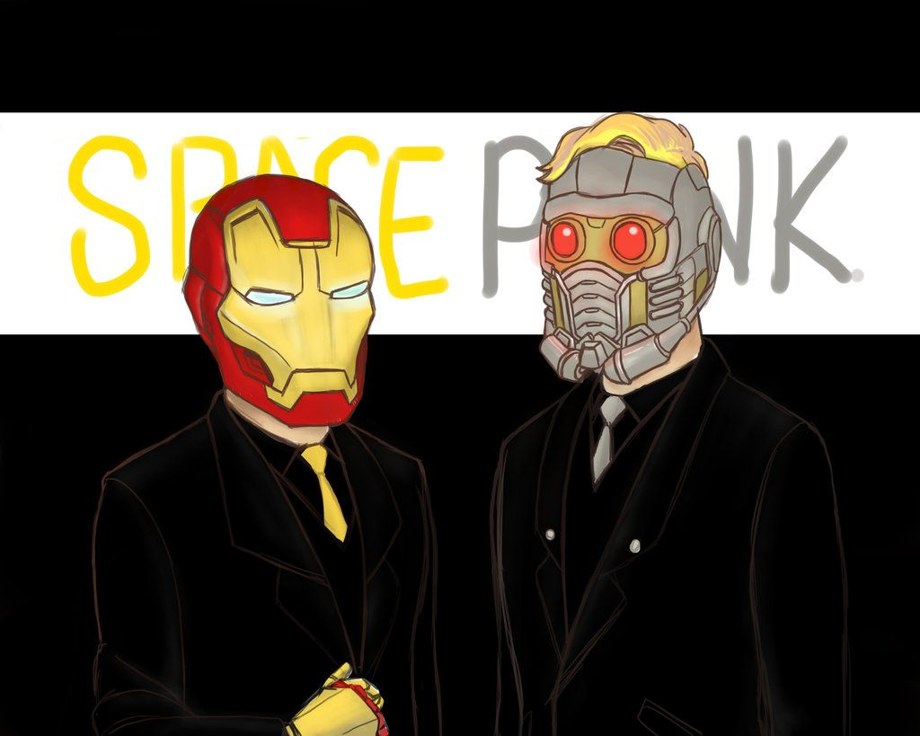 Space Punk by pencilHeadno7.deviantart.com on @DeviantArt