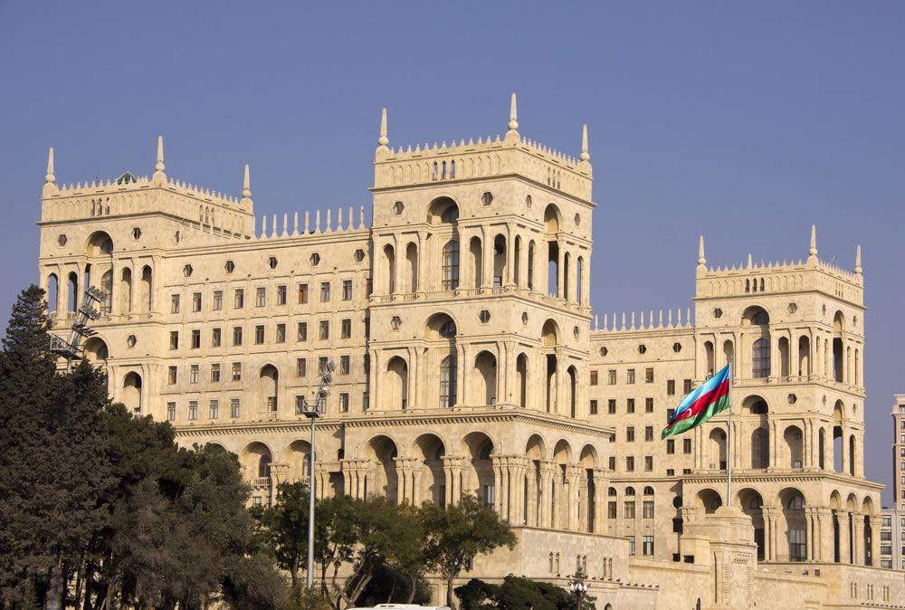 Baku Azerbaijan Mimari