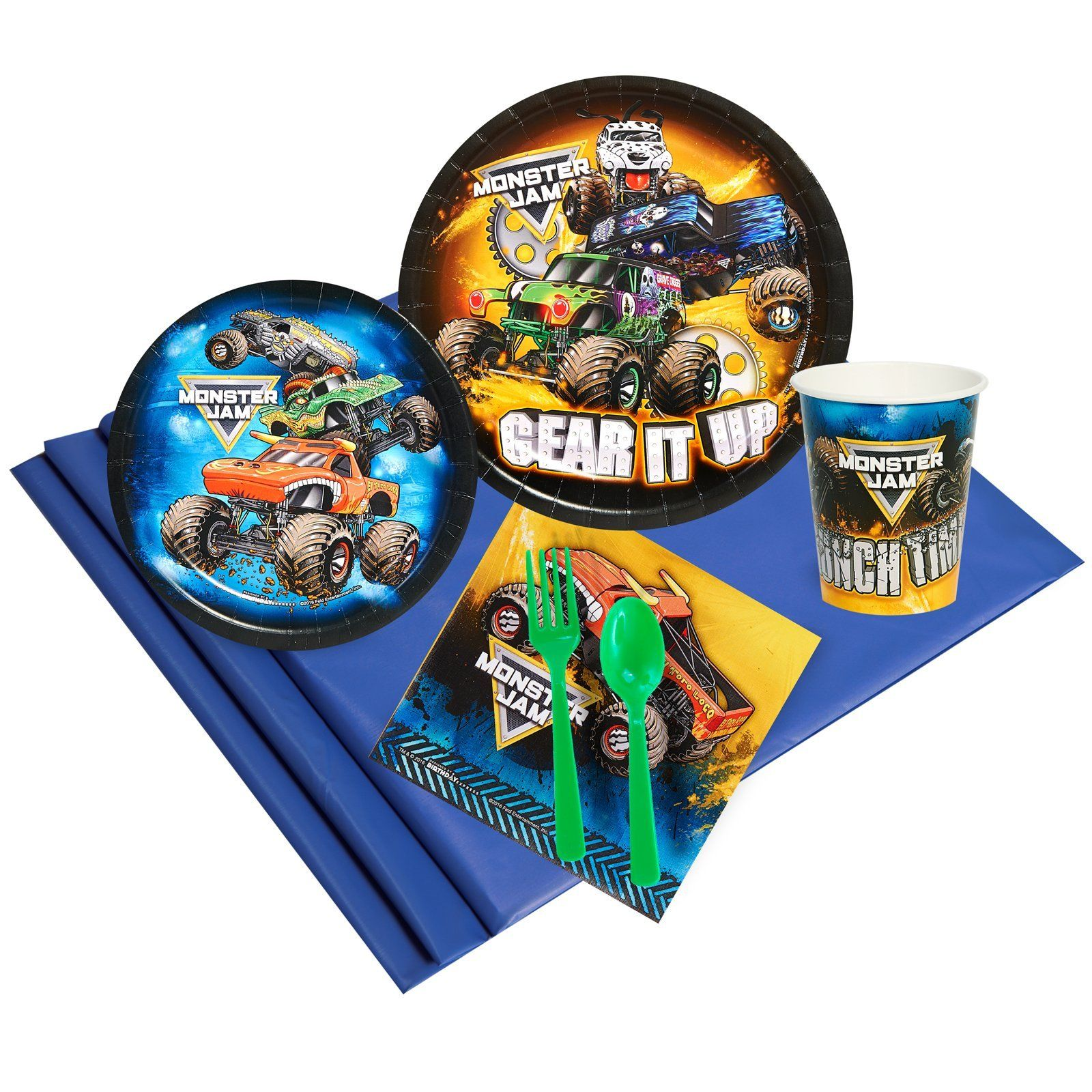 Monster Jam Party Pack (8)