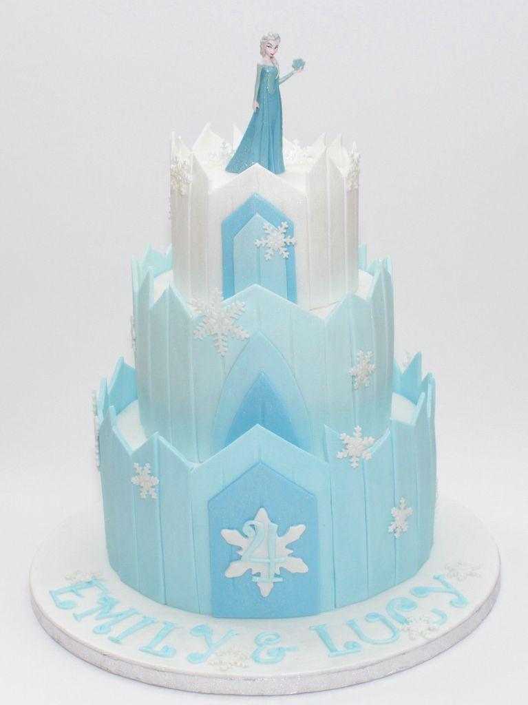 Frozen Ice Palace Cake Frozen Castle Cake Frozen Castle And Cake