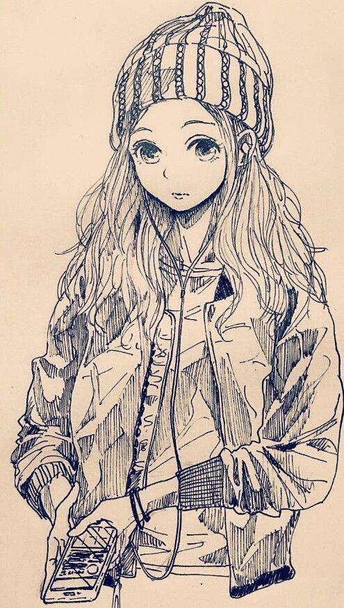 Sketch From Instagram By Mitsumayo Os Dejo El Insta De Este A Pedazo De Artista Manga Art Anime Drawings Anime Sketch