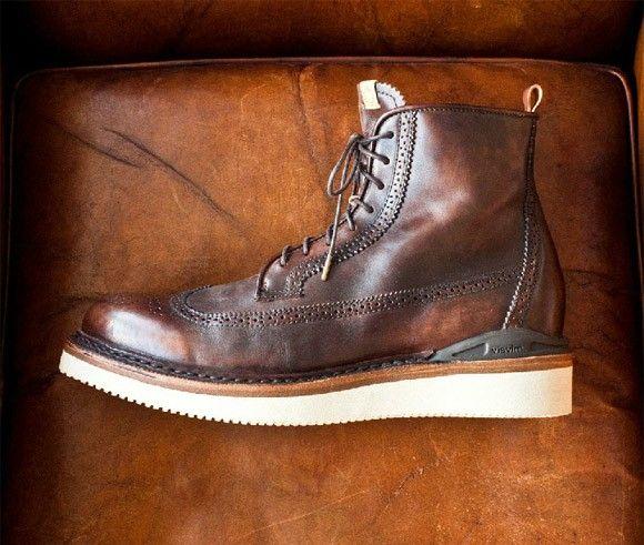 Visvim-patrician-wt-hi-folk-contrast-sole-brogue-boot