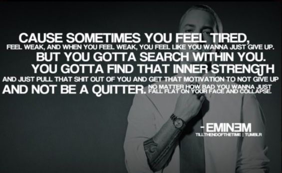 Till I Collapse Eminem Eminem Quotes Eminem Words