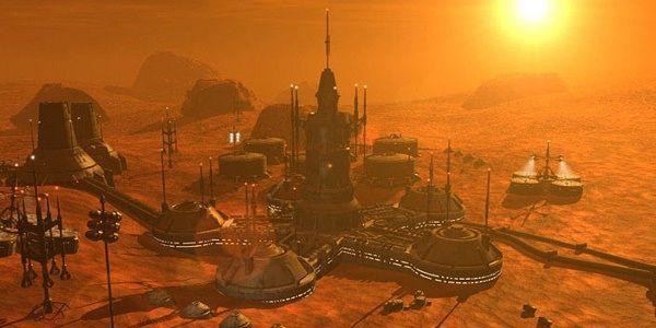Mars metropolis | Neo noir landscapes in 2019 | Mars ...